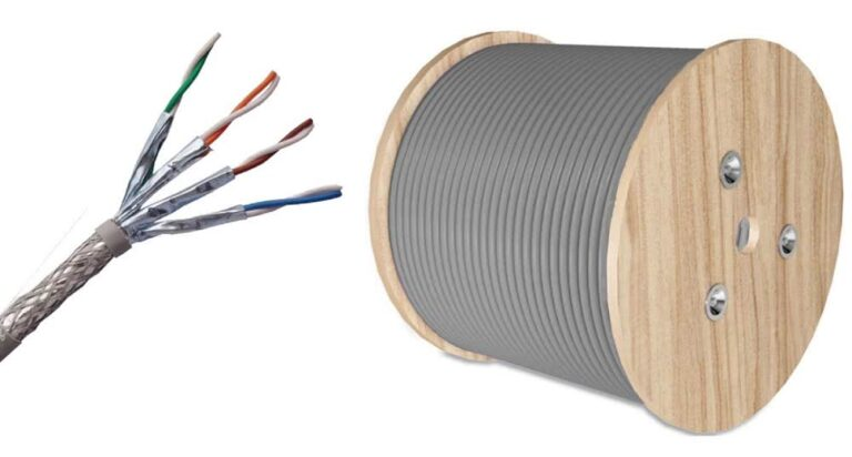 100 Meter Roll | CAT7 SSTP Cable – Pure Copper Ethernet Cable