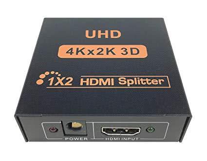 1×2 HDMI Splitter – 4K x 2K Ultra HD (uHD) – 2 Ports Output