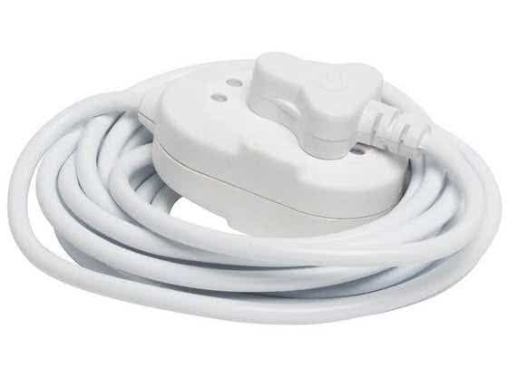 3 Meter 220V,10A Extension Cord 3-pin SA Plug to Janus 3-Pin Adapter