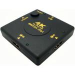 3×1 (3 input ports) Manual Ultra HD 4k HDMI Switch – Push Button Type