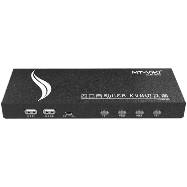 4 Port HDMI KVM Switch | Keyboard/Video/Mouse Switch | 4K Ultra HD