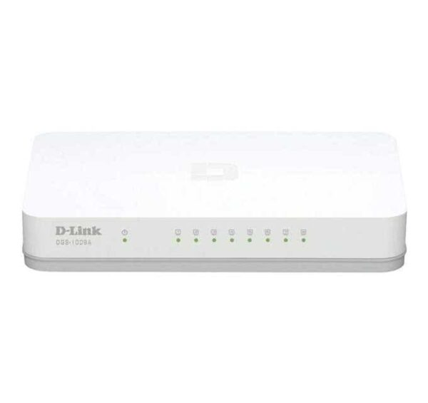 8 port Fast Ethernet Network switch - 10/100Mbps Full Duplex / Auto Negotiation
