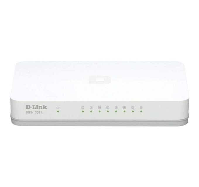 8 Port Fast Ethernet Switch For Local Area Networks