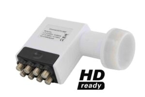 High Band Universal Octo LNB For DSTV HD PVR's / Single view / Dualview Decoders (8 Legacy Ports)