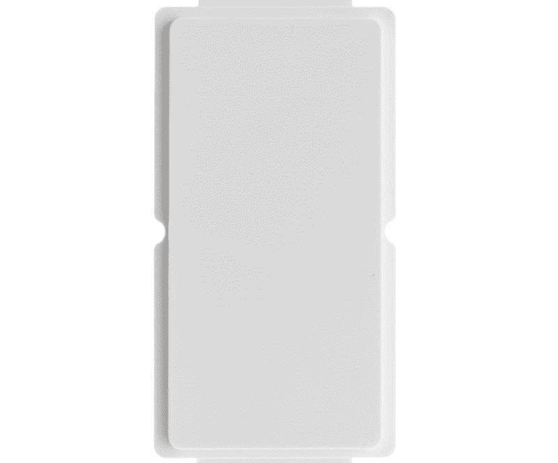 WallPlate Modular Keystone Blank Module Insert 1