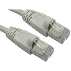 2 Meter CAT6 1Gbit/s Network Cable for Ethernet (UTP Ethernet Cable) – Precrimped and tested