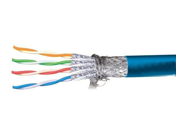 Price per Meter | CCA Shielded CAT6 Cable | STP Gigabit Networking Cable