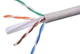 Price per Meter - CAT6 Unshielded Twisted Pair (UTP) 23AWG 1 Gigabit/s Cable - Gray