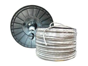 100m Cable Roll - CAT6 UTP CCA Unshielded Twisted Pair 23AWG 1 Gigabit/s Cable - Gray