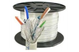 305 Meter Roll | SSTP CAT 7 Cable Pure Copper Ethernet Network Cable