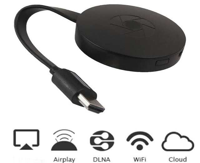 Chromecast / Smartphone Screen Miracast / Anycast G2 Plus (For Samsung/Hauwei/LG/Apple Wifi Screen Duplicate / Mirroring)