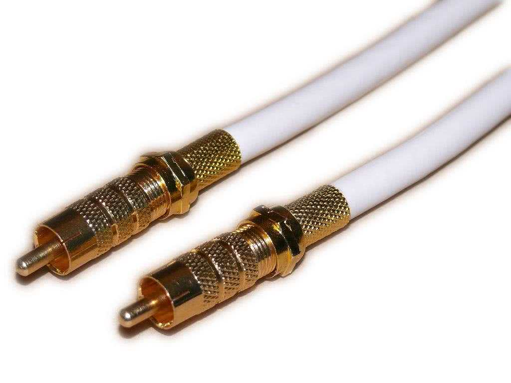 20 Meter Digital RCA Coaxial Audio Cable (or Composite Video) M/M 75ohm RG6U - S/PDIF, Digital Coaxial, Subwoofer - Price per 20m Customizable from 5m to 30m