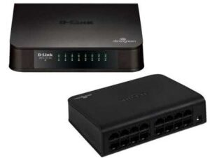 Dlink 16-port (32Gbps total bandwidth) Gigabit Network switch - 10/100/1000 Mbit/s Full Duplex Auto Sensing