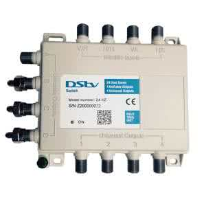 Multichoice / DSTV Explora Decoder Replacement Multiswitch (Twin Inputs to SATCR)