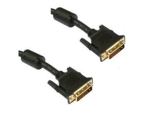 1.8 Meter Male DVI-D to DVI-D Male Dual Link Cable (Digital Cable only DVI-D)