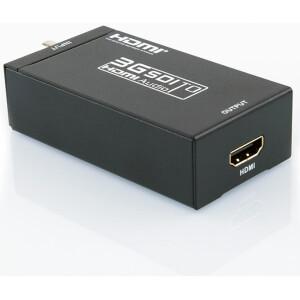 3G-SDI, SD-SDI, HD-SDI to HDMI Converter | HDMI over Coaxial Cable