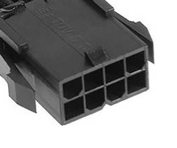 Female 8Pin to Dual (2x) Male PCIe 8pin (6+2Pin) PCIE Cable Splitter