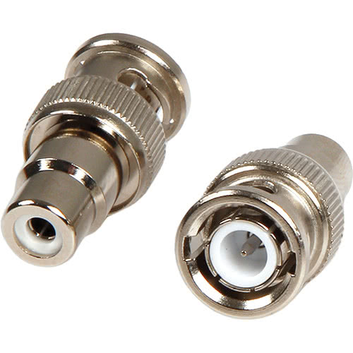 Female RCA to BNC Male Connector