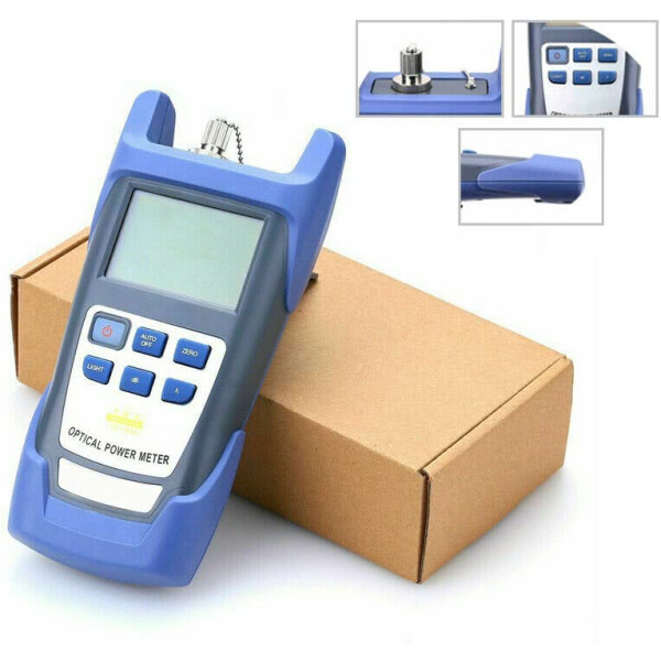 Fiber Optic Cable Tester / Light Meter Tester with Display Screen – Can Test FC,ST and SC Cables