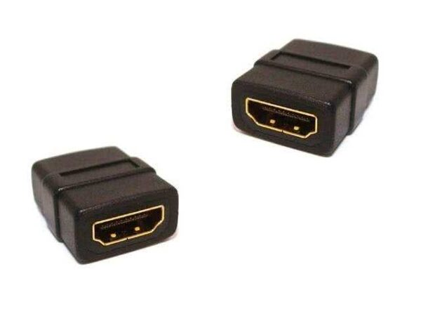HDMI Socket / Coupler - Female to Female (Gold Plated Connectors)