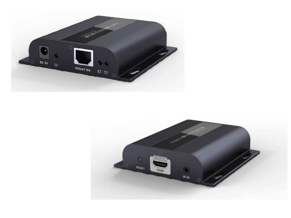 HDBitT HDMI over Network LAN IP Switches Extender with IR   Receiver