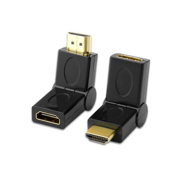 HDMI Port Saver | Male to Female HDMI Adapter | Swiveling Type