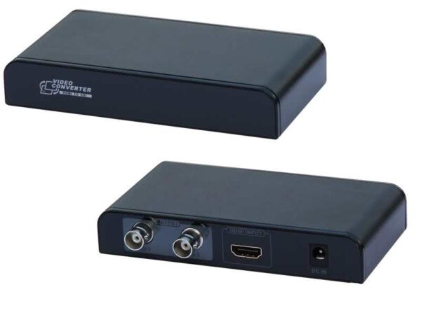 HDMI to SDI (or HD-SDI) (x2) Converter - HDMI over Single Coaxial Cable / RG6U Transmitter up to 120 meter