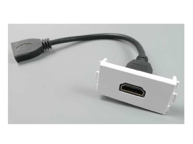 WallPlate Modular Keystone HDMI Module Insert