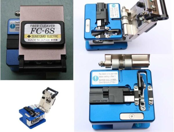 High Precision Fiber Optic Cable Cleaver - For Cutting Precise 90 degree 125um fibre optic cable for FFTH (Fiber to the Home) Applications
