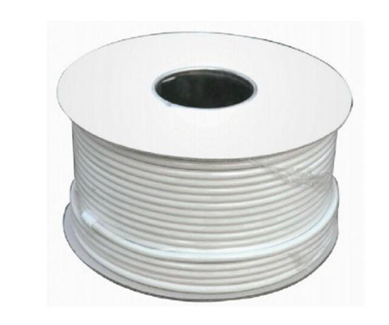 100 Meter Roll RG6u Coax RF Cable - LNB Cable 75 Ohm, 64 Braid