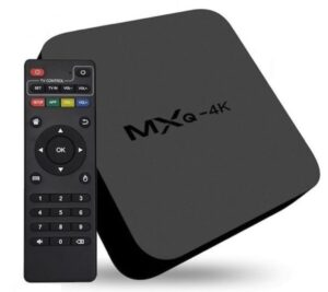 MXQ 4K Media Player / TV Box Quad-Core CPU with H.265 Android 7.0 (Wifi / LAN / Bluetooth)