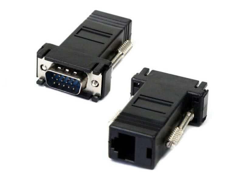 30 meter Passive VGA over CAT5/CAT6 RJ45 Balun / Extender - 1 Pair, 2 Pcs