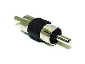 Male RCA to RCA Male Coupler / Jack