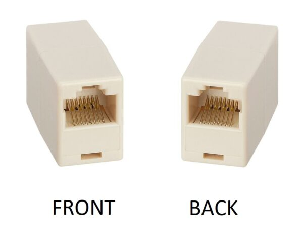RJ45 Coupler / Network Cable Joiner – Female to Female RJ45 Connector