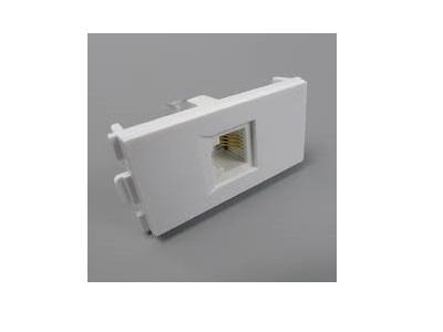Modular RJ45 Wall Plate Insert | LAN Keystone