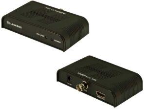 SD-SDI, HD-SDI and 3G-SDI to HDMI Video Converter Device (HDMI over Coax Cable / RG6U Receiver)