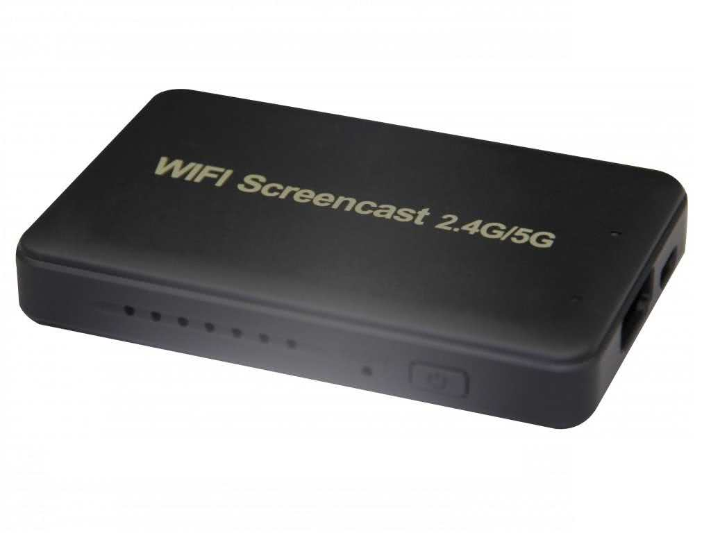 Wifi Screencast 2.4G/5G - Miracast / Airplay Wifi HDMI for wireless Screen Mirroring to Display (Android & Apple IOS)