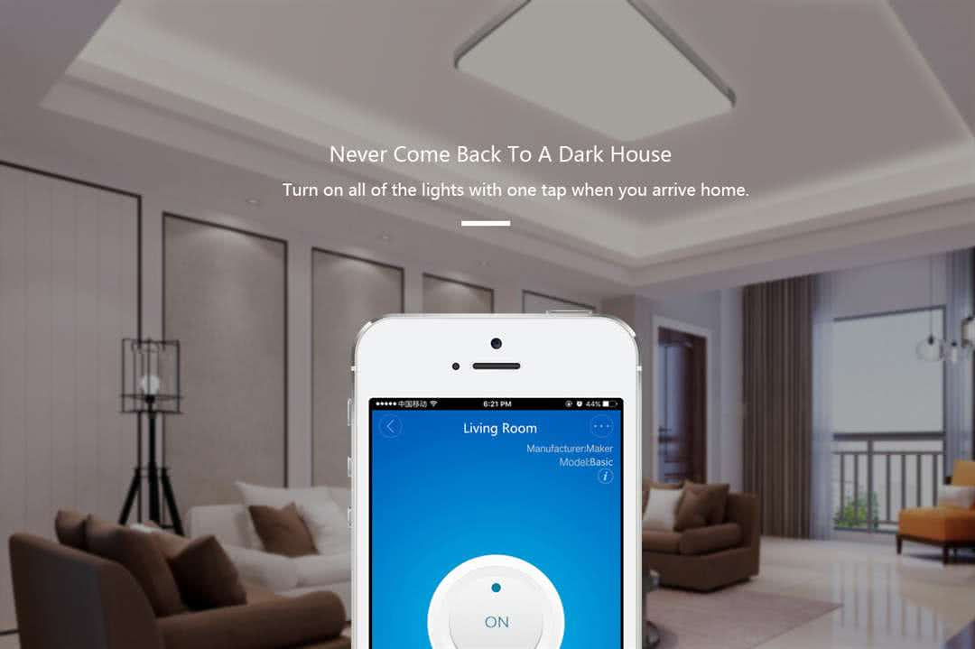 Sonoff SINGLE Wifi Programmable Wireless Smart Switch - On/Off/Timer for Home Automation