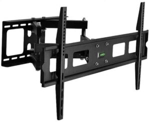 37 to 70 inch Fixed / Tilt & Swivel Mount LCD / Plasma HDTV Bracket with Bubble Level Indicator