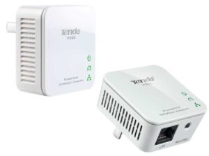 Tenda 200Mbps Fast Ethernet Network over Powerline Adapter - Use your existing home 220v power cables as a data network