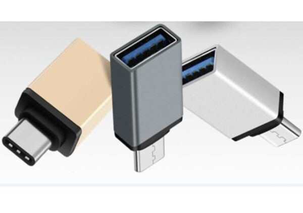 USB 3.1 OTG Adapter - Male USB 3.1 TypeC to Female USB 3.0 TypeA adapter (To Connect External HDD's, Flash Drive, Keyboard/Mouse or accessories to smartphone / MAC / PC / Laptop)