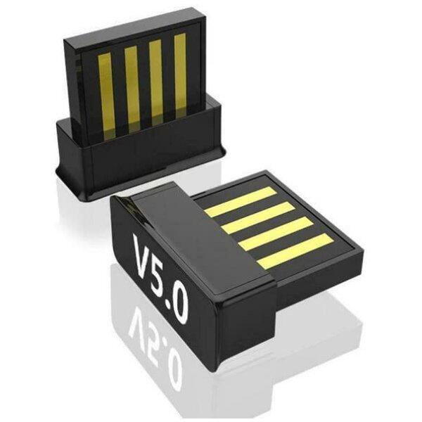 Wireless Bluetooth USB Adapter – v5.0 Audio Capable USB Dongle