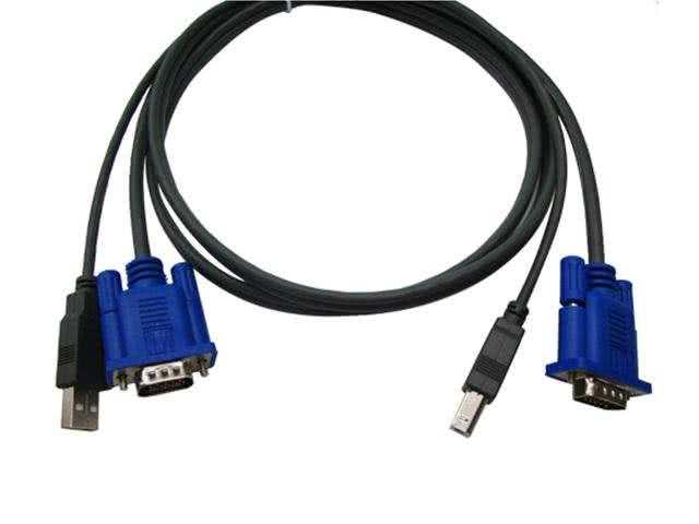 1.8 Meter VGA, USB KVM Cable (For USB KVM Switches)