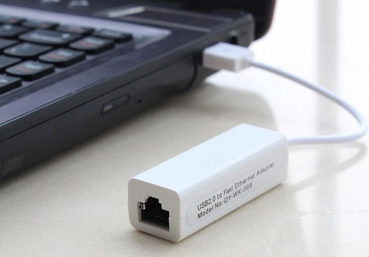 USB to Ethernet Network Adapter - 100Mbit/s Networking