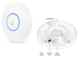 Unifi AC Lite Dual Band 2.4Ghz & 5Ghz Wi-fi 802.11AC High Speed / Wireless Network Access Point - POE (Power over Ethernet) Ceiling or WallMount, Wifi Range Extender with AP Management Software