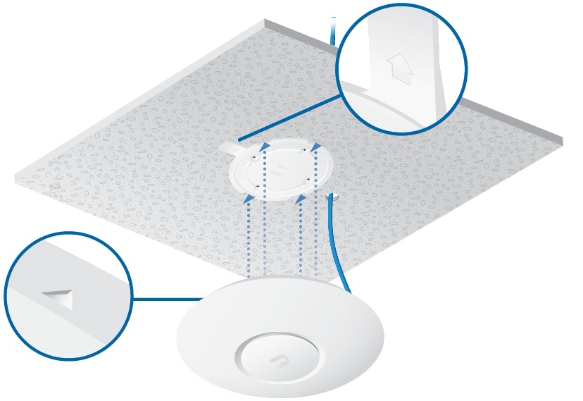 AC Lite POE Wireless Access Point | Dual Band 2.4Ghz & 5Ghz High Speed | Unifi