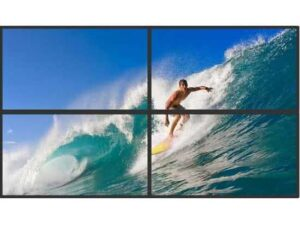2x2 UltraHD 4k Video Wall Equipment (excl Displays) for Digital Signage controlled from Windows PC/Laptop over Ethernet Network via LAN to HDMI Zero Clients to VGA or HDMI Displays with Audio over Ethernet Support