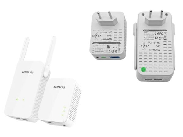 WIRELESS KIT – Wifi & Gigabit Ethernet over Powerline | Tenda