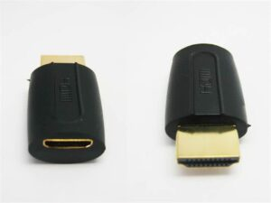 Male HDMI to Female mini HDMI Adapter