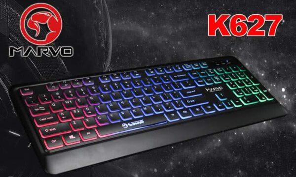 MARVO K627 Membrane Gaming Keyboard / 3-color Backlight 1